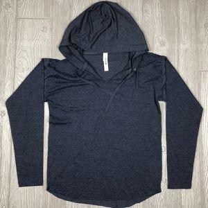VS PINK Lightweight Pullover Long Sleeve Hoodie